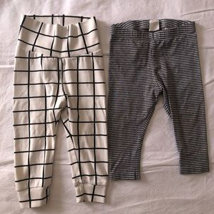 H&M 6-9 month leggings